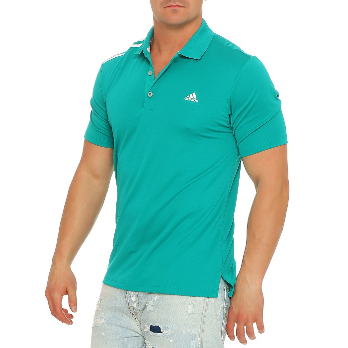 adidas polo shirt golf poloshirt herren climacool eqt gr n ae4179 gr s 2xl neu. Black Bedroom Furniture Sets. Home Design Ideas